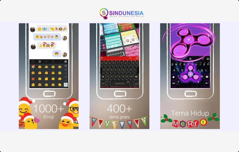 TouchPal (Paling Rame Emoji)