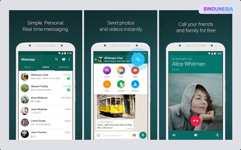 WhatsApp Aplikasi Paling Berguna