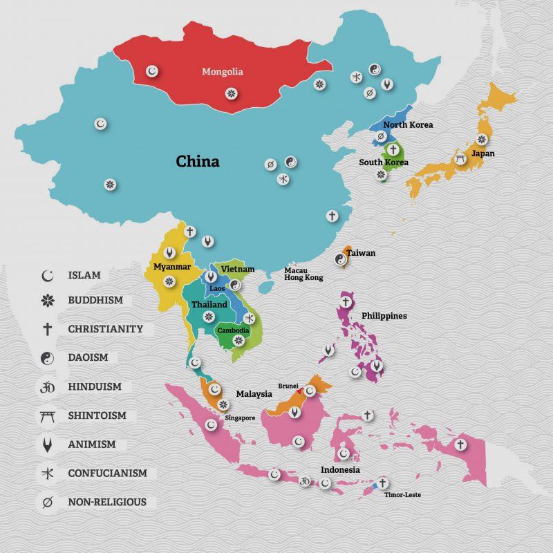 Agama dan Negara-Negara Di Wilayah Asia