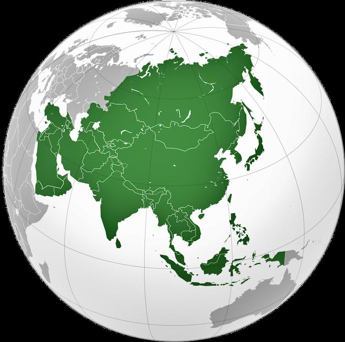 Sejarah Benua Asia