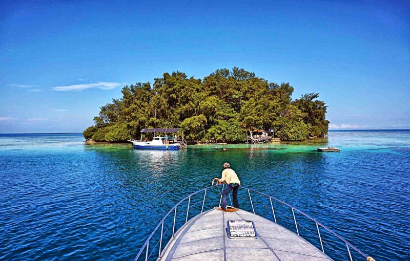 cara menuju pulau dolphin