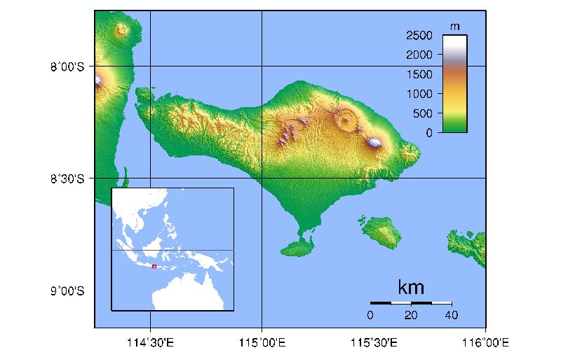geografi bali