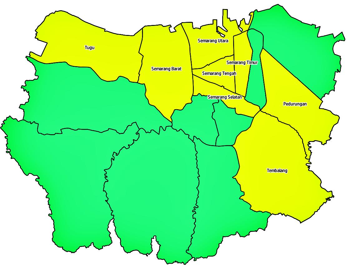 peta kota semarang hd