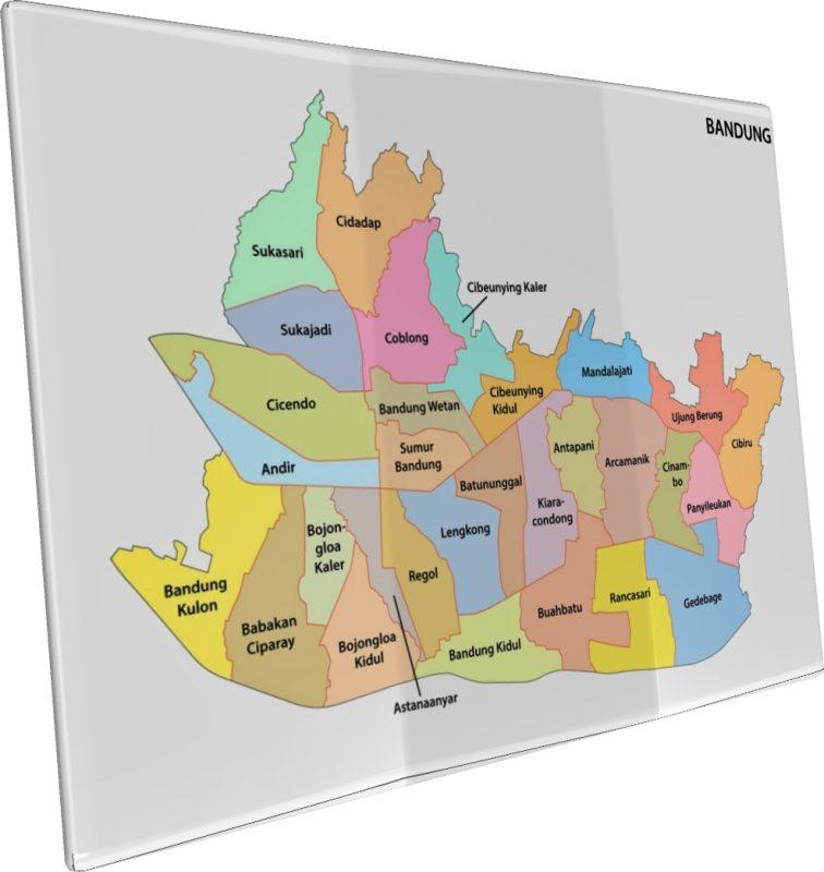 peta bandung 3d