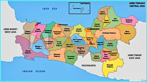 Divisi Administrasi Jawa Tengah