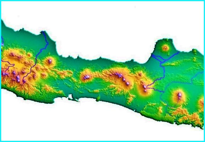 Geografi Jawa Tengah
