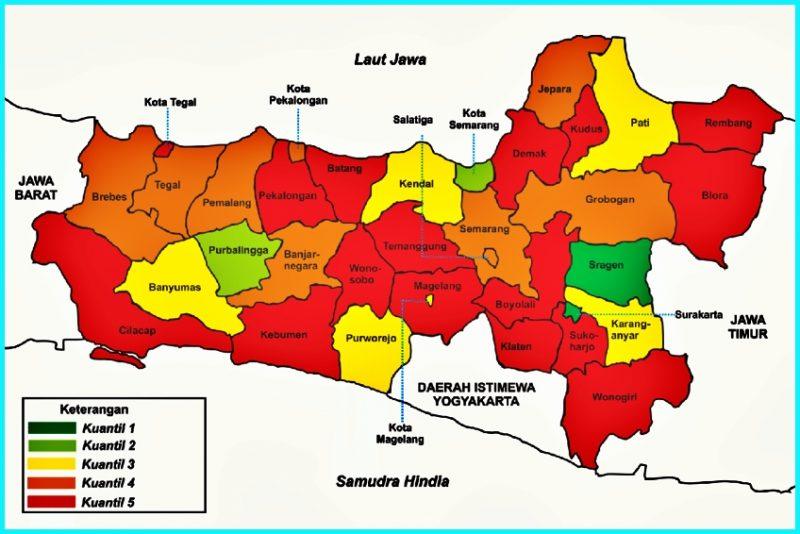 Kota dan Kabupaten Jawa Tengah