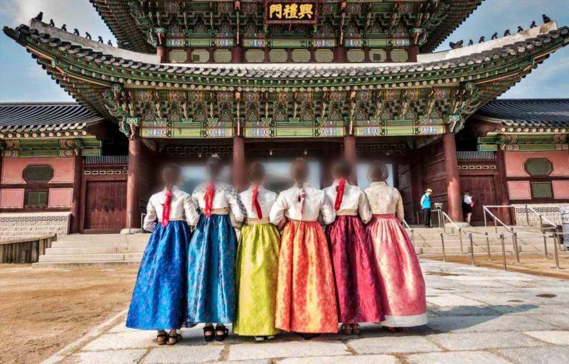 Pakaian adat Korea Selatan