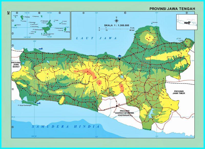 Peta Buta Jawa Tengah