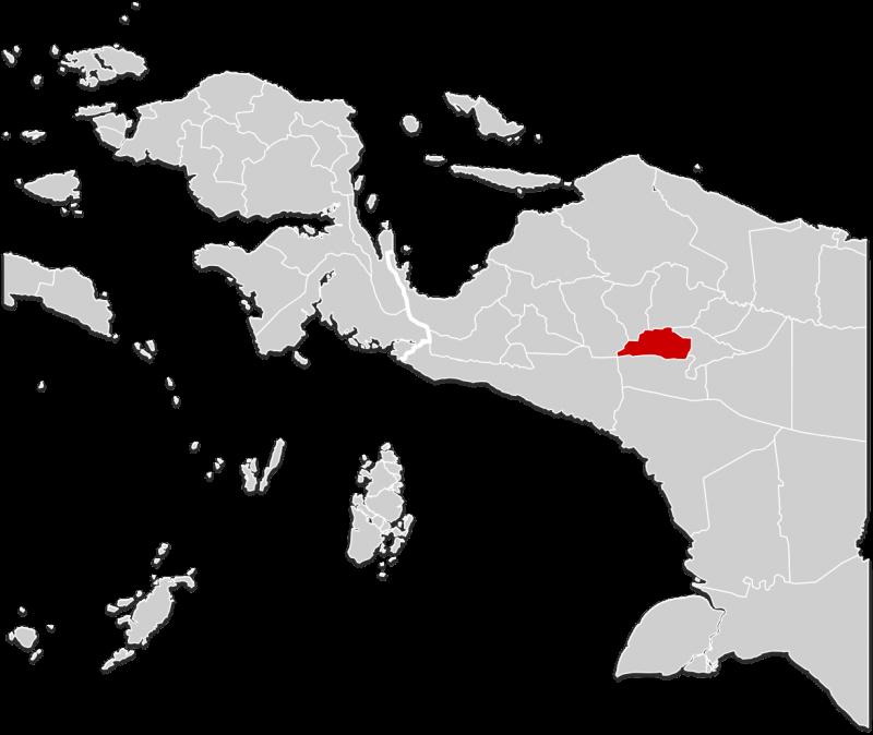 peta papua png