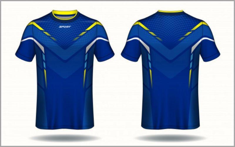 Desain Kaos Olahraga Laki-laki