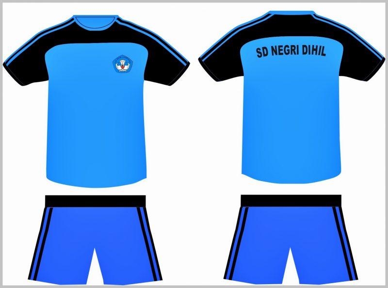 Desain Kaos Olahraga SD