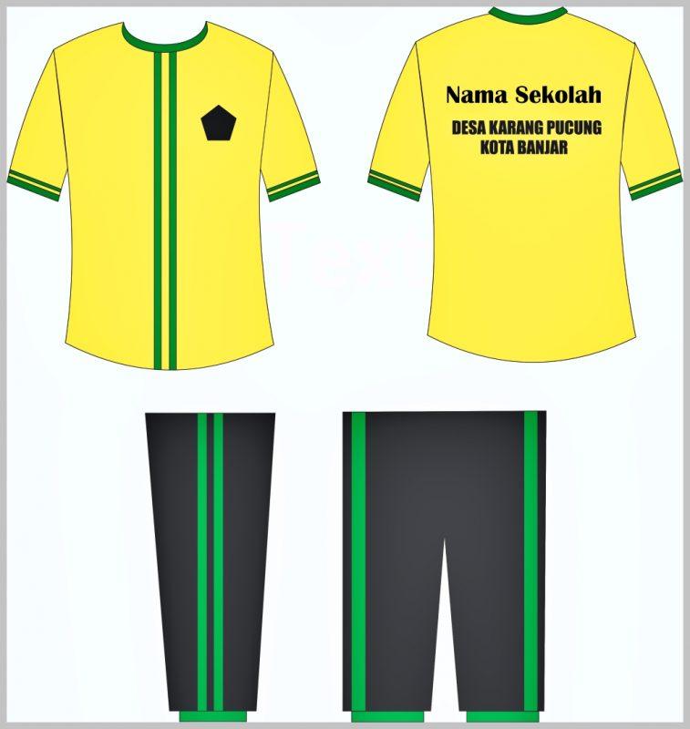 Desain Kaos Olahraga SD2