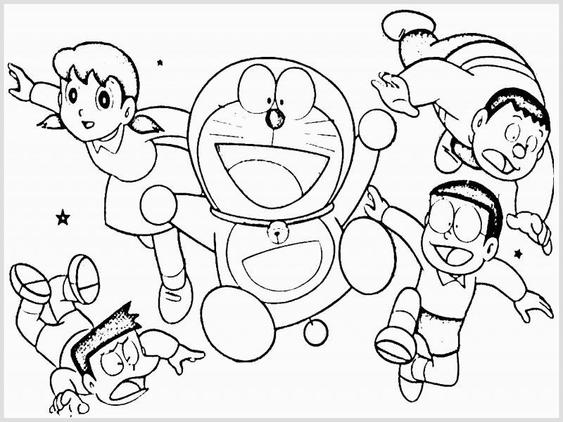 Gambar Doraemon dan Kawannya Berbagai Ekspresi