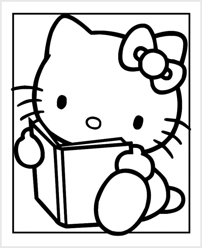Hello Kitty dan Buku
