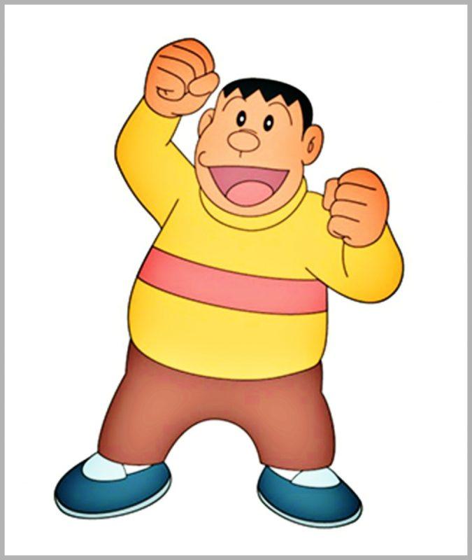 Tokoh Tokoh Utama Film Doraemon takesi gouda