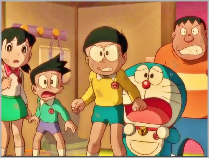 Tokoh Tokoh Utama Film Doraemon