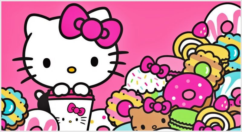 Wallpaper Gambar Hello Kitty