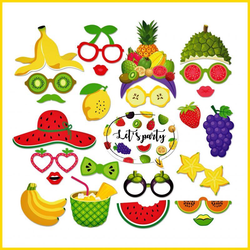 gambar buah buahan karakter kartun