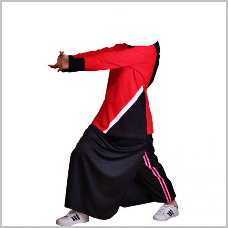 model kaos olahraga muslimah rok