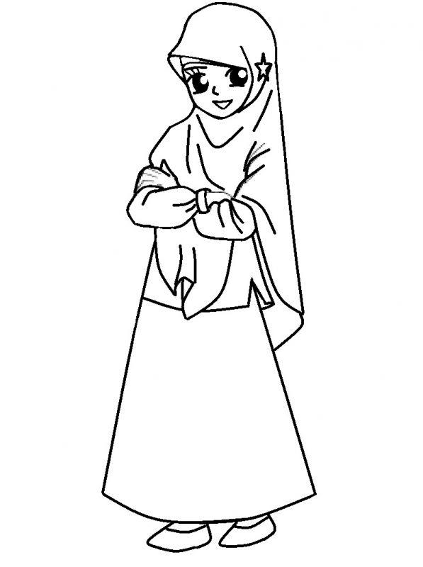 Barbie Muslimah Berhijab Panjang
