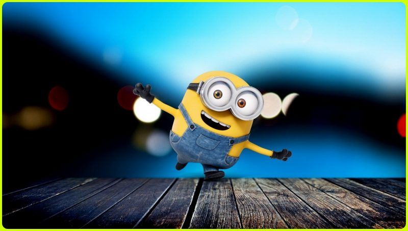 background minion bahagia