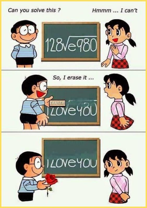 gambar Nobita dan Shizuka Lucu tapi Romantis