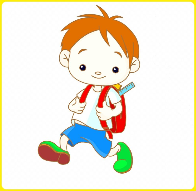 gambar anak sekolah kartun paud