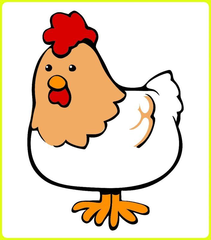 gambar kartun ayam murung