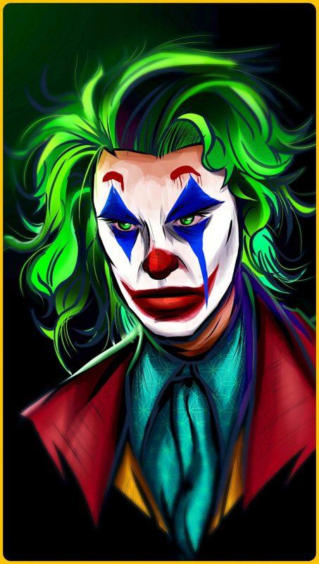 gambar kartun keren 3d joker