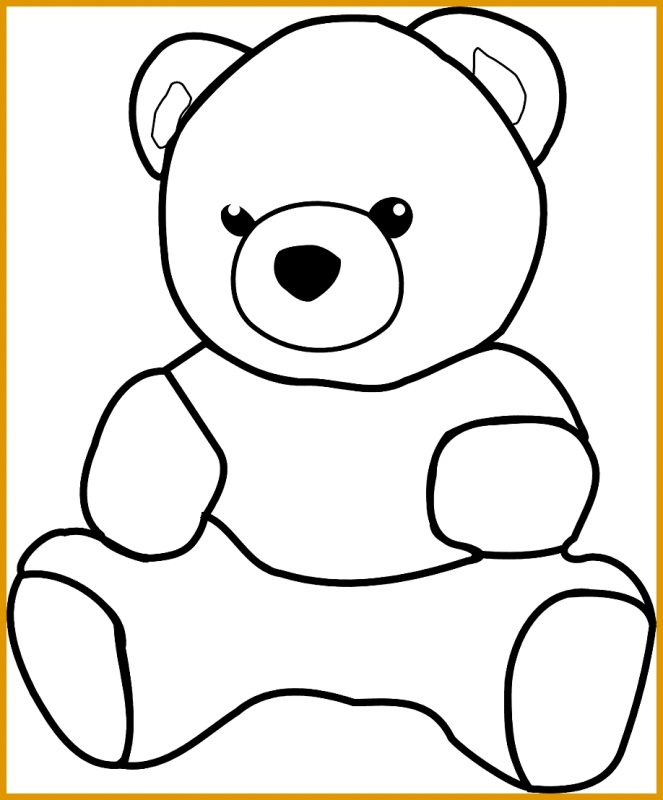 gambar kartun lucu beruang imut
