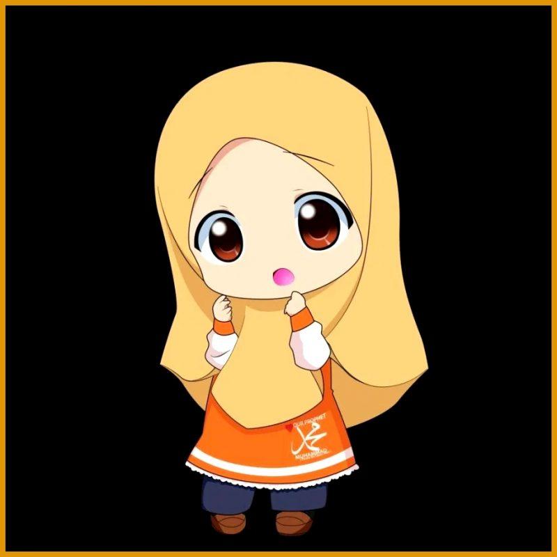gambar kartun lucu gadis imut