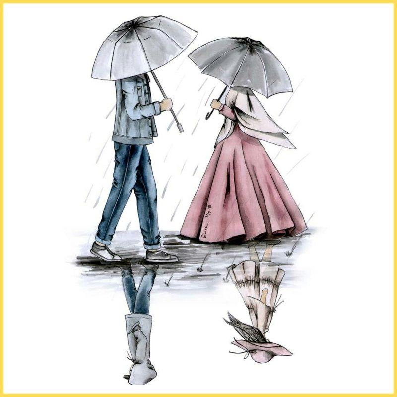 gambar kartun lucu romantic