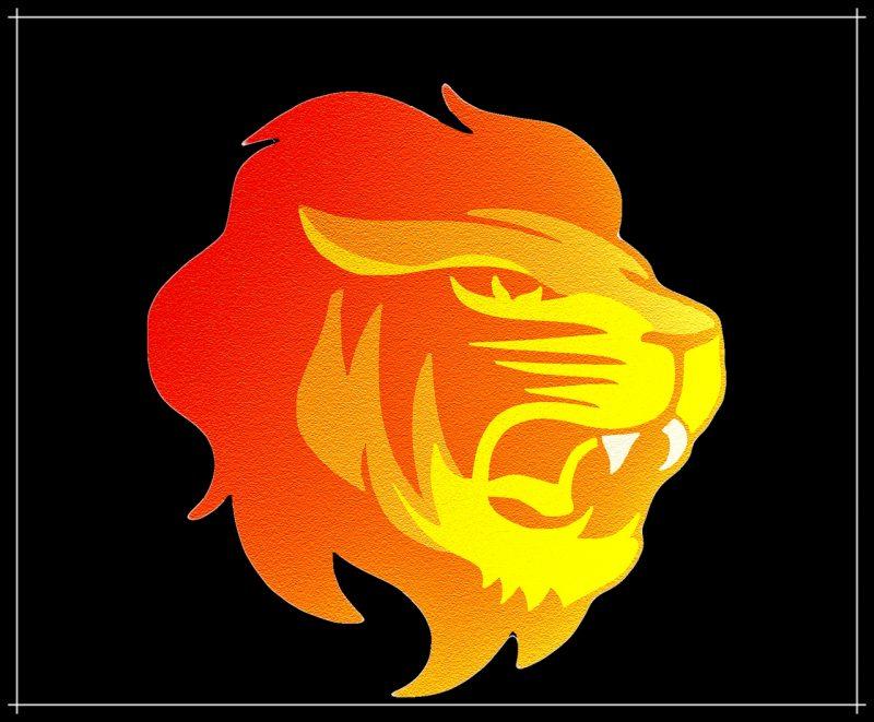 gambar kartun singa marah sekali