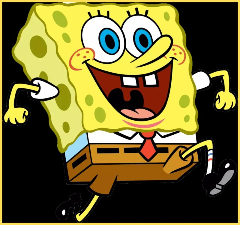 gambar kartun spongebob lucu