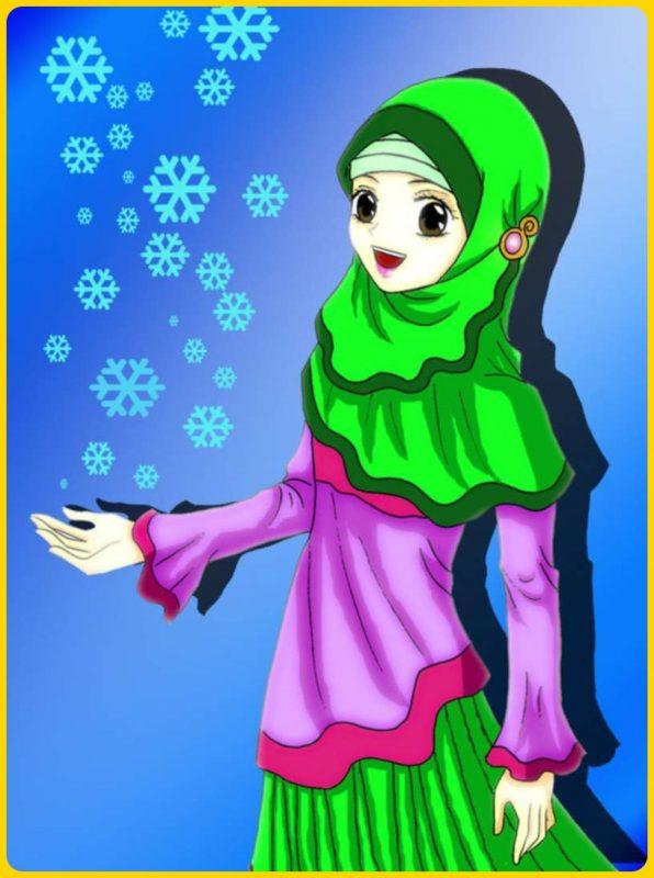 gambar muslimah keren