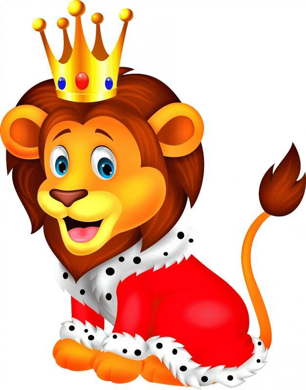 gambar singa si raja hutan