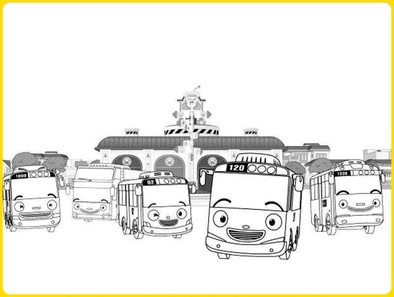 ketsa Tayo bersama Cito dan Bus Kecil Lain
