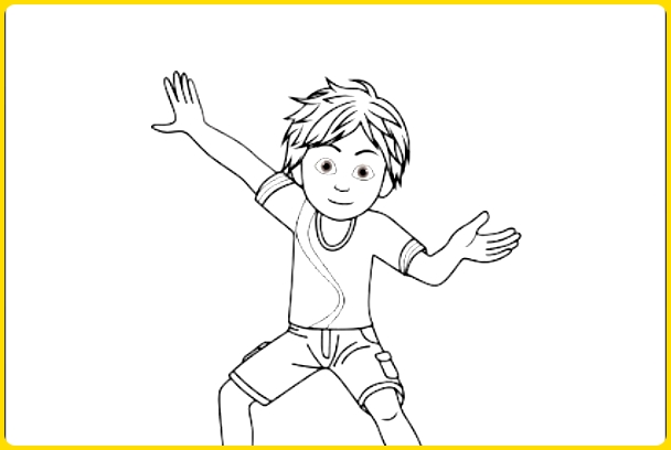 sketsa gambar kartun shiva