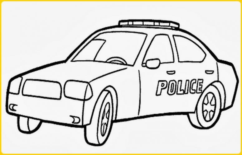 sketsa gambar mobil sederhana