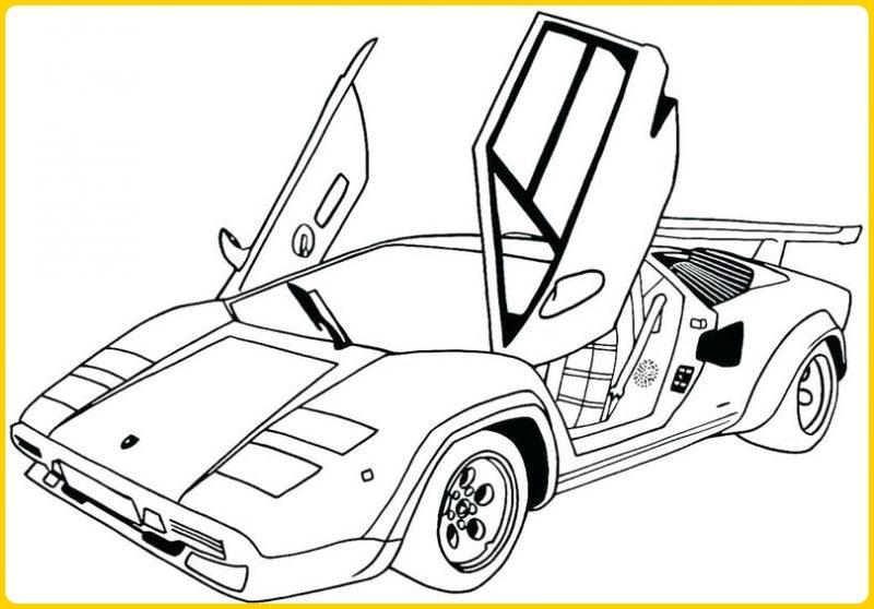 sketsa gambar mobil sport mclaren p1