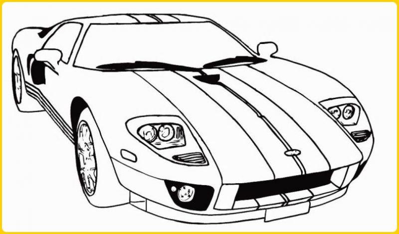 sketsa gambar mobil sport aston