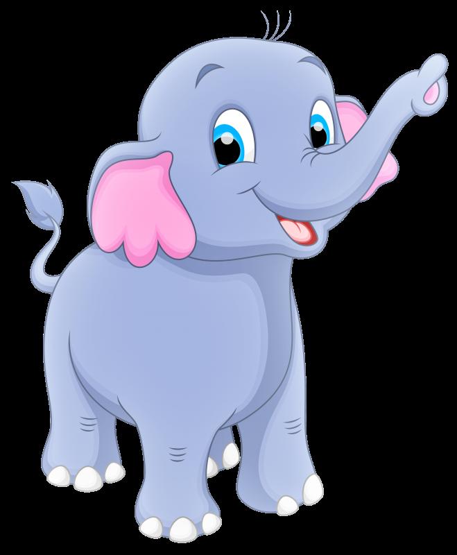 sketsa kartun gajah png