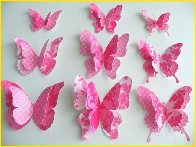 sketsa kupu kupu untuk hiasan dinding