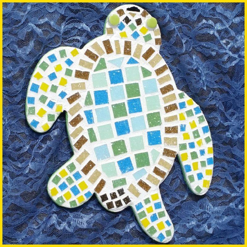 sketsa kura kura untuk mozaik unik