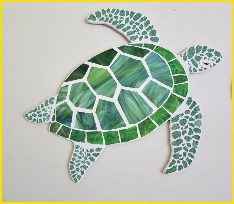 sketsa kura kura untuk mozaik