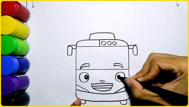 sketsa tayo mudah dan sederhana