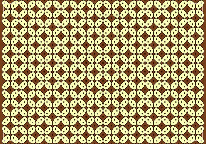 Pola Batik Kawung