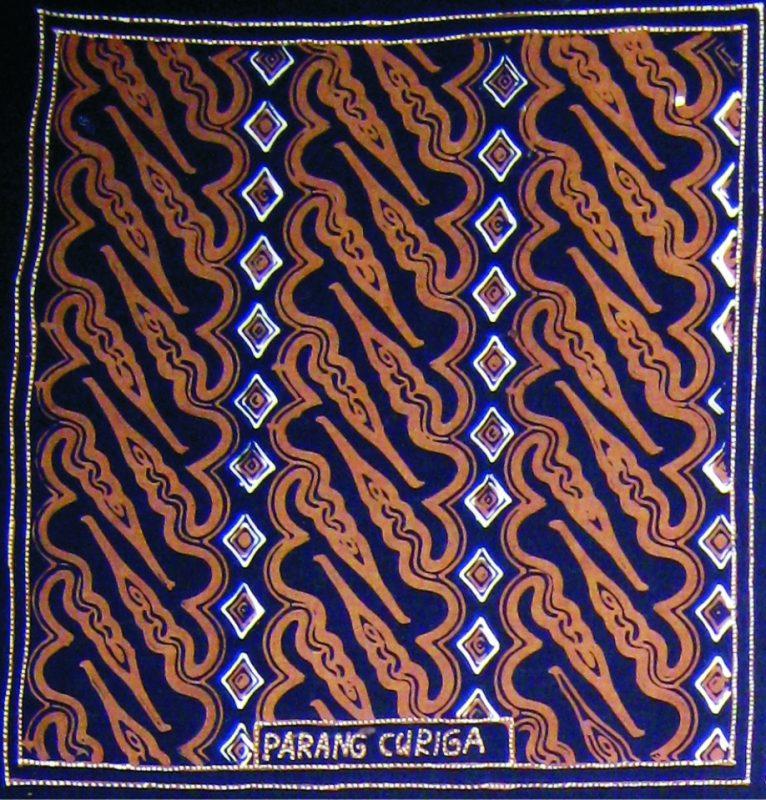 Pola Batik Parang Curigo