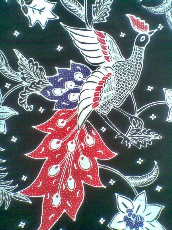 Sketsa Batik Burung